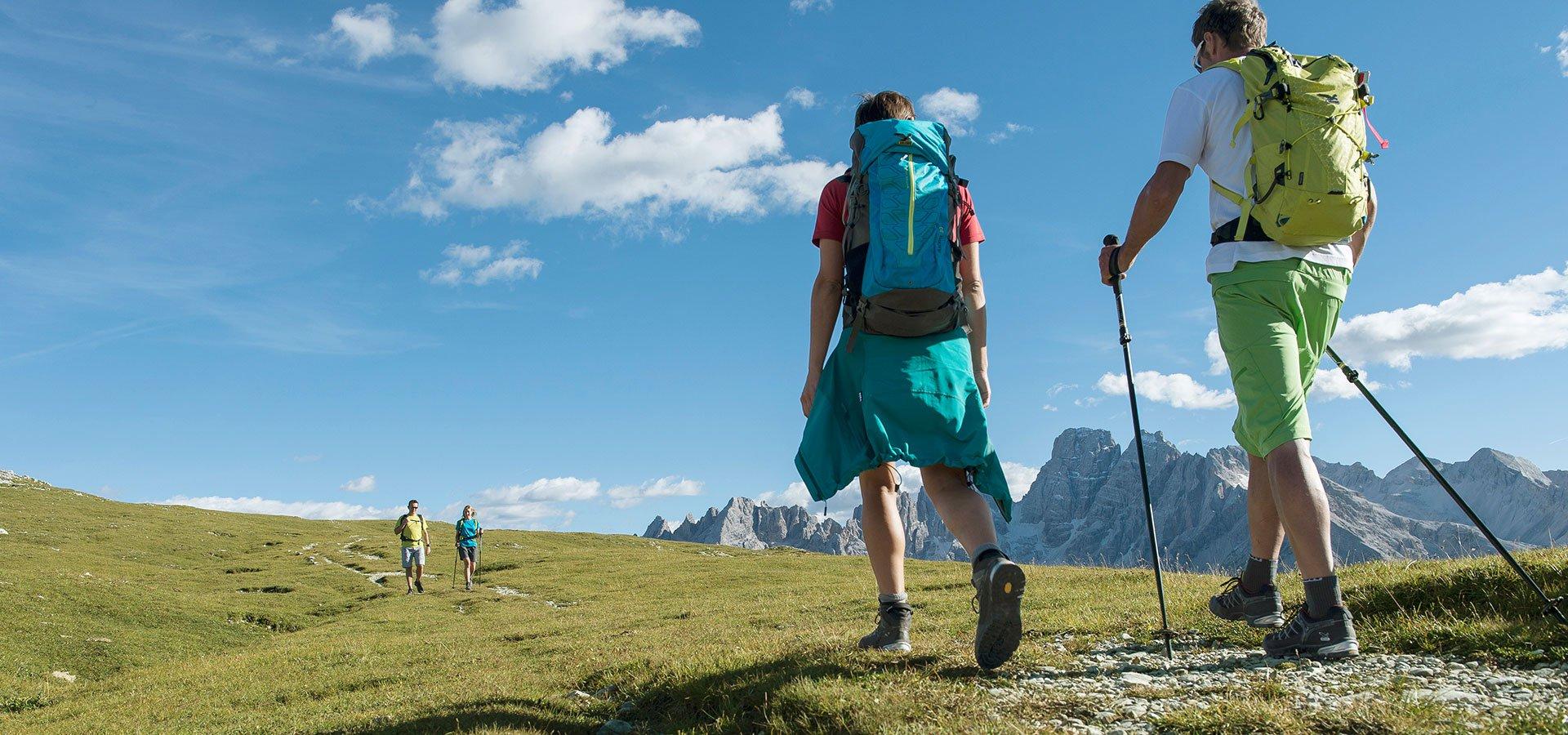 Vacanze estive nelle montagne dell'Alto Adige