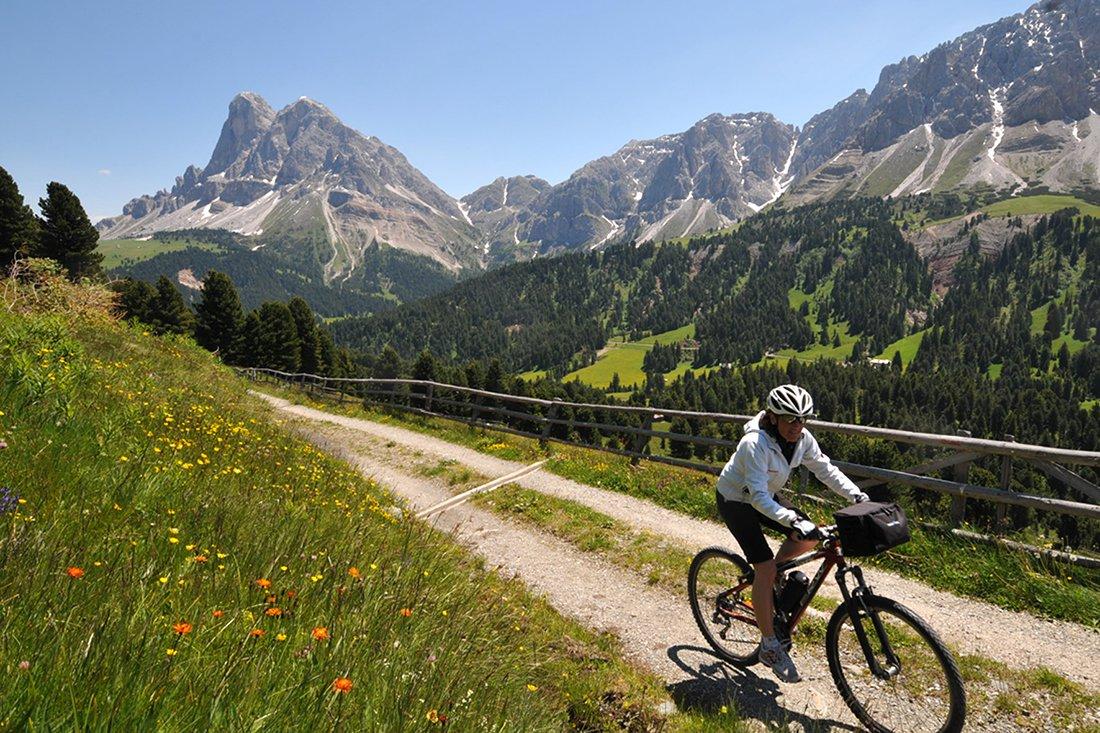 Ciclismo sulla plose