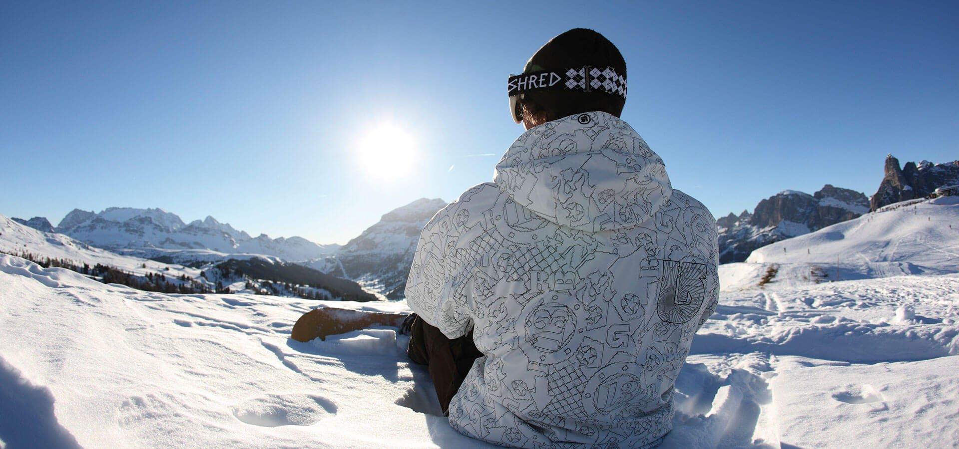 Auch Snowboarder sind herzlich willkommen